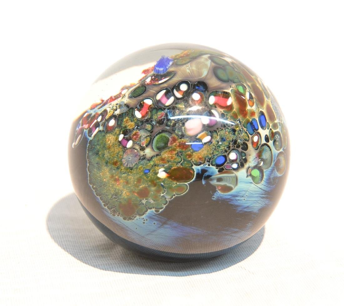 JOSH SIMPSON PAPERWEIGHT DEPICTING