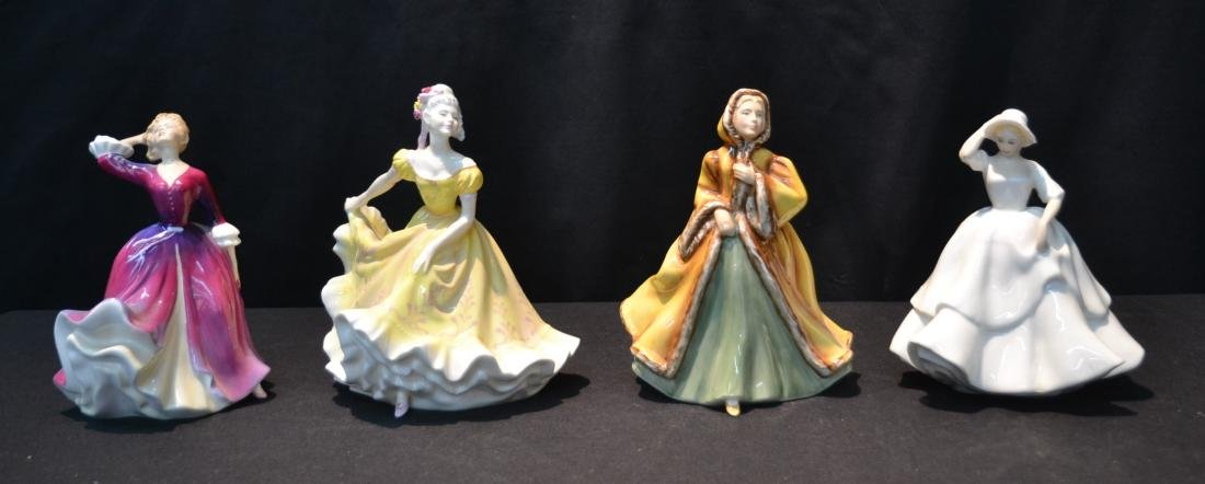 (4) ROYAL DOULTON FIGURINES INCLUDING