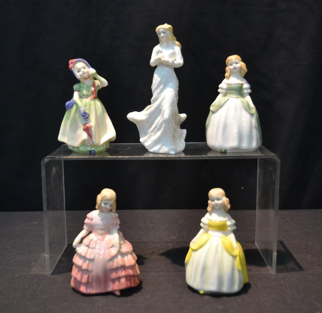 (5) ROYAL DOULTON FIGURINES INCLUDING
