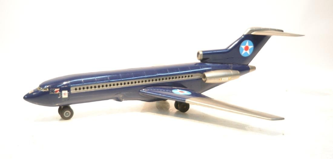 "LARGE MODEL 747 AIRPLANE - 39"" x 47"" x 13"""