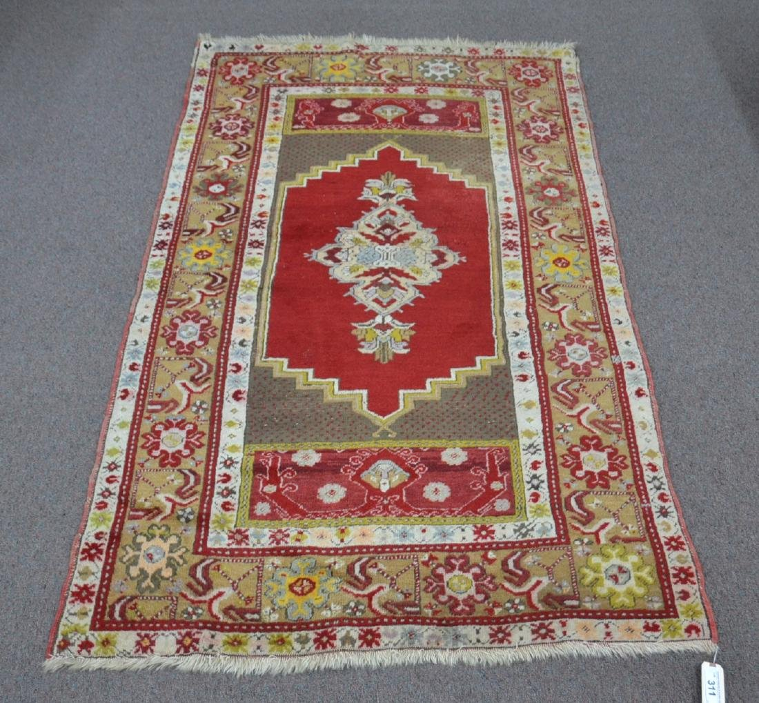 "3' 6"" x 5' 8"" TURKISH RUG"