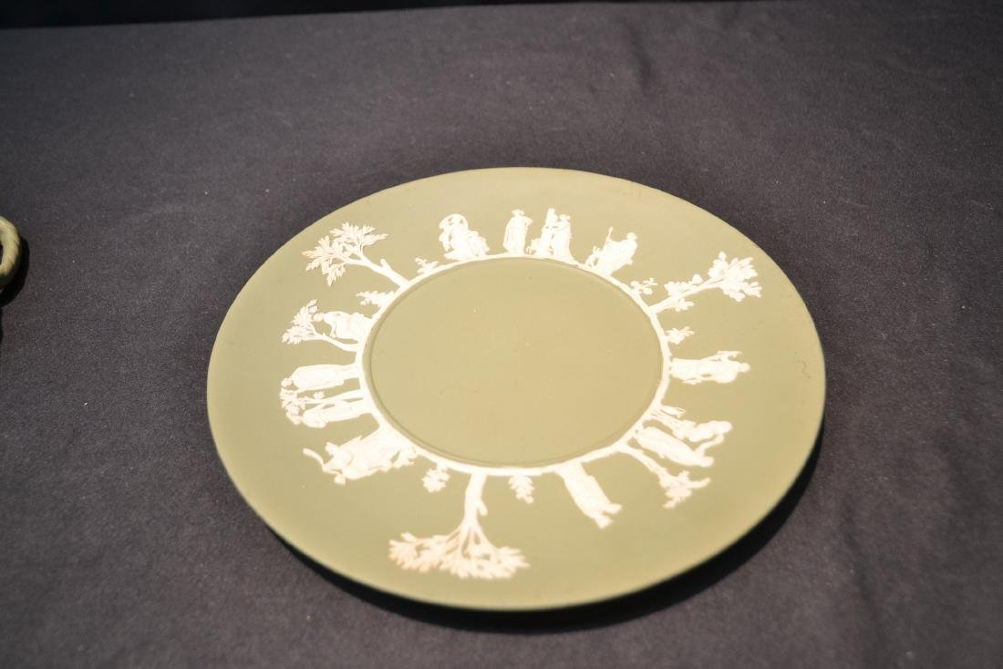 EARLY GREEN WEDGWOOD - ENGLAND PITCHER & - 10