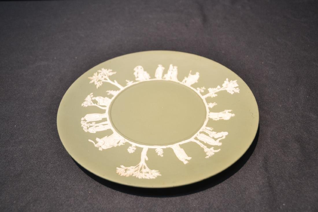 EARLY GREEN WEDGWOOD - ENGLAND PITCHER & - 7
