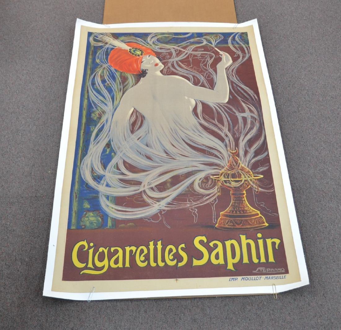 """CIGARETTES SAPPHIRE"", STEPHANO , ca .1925"