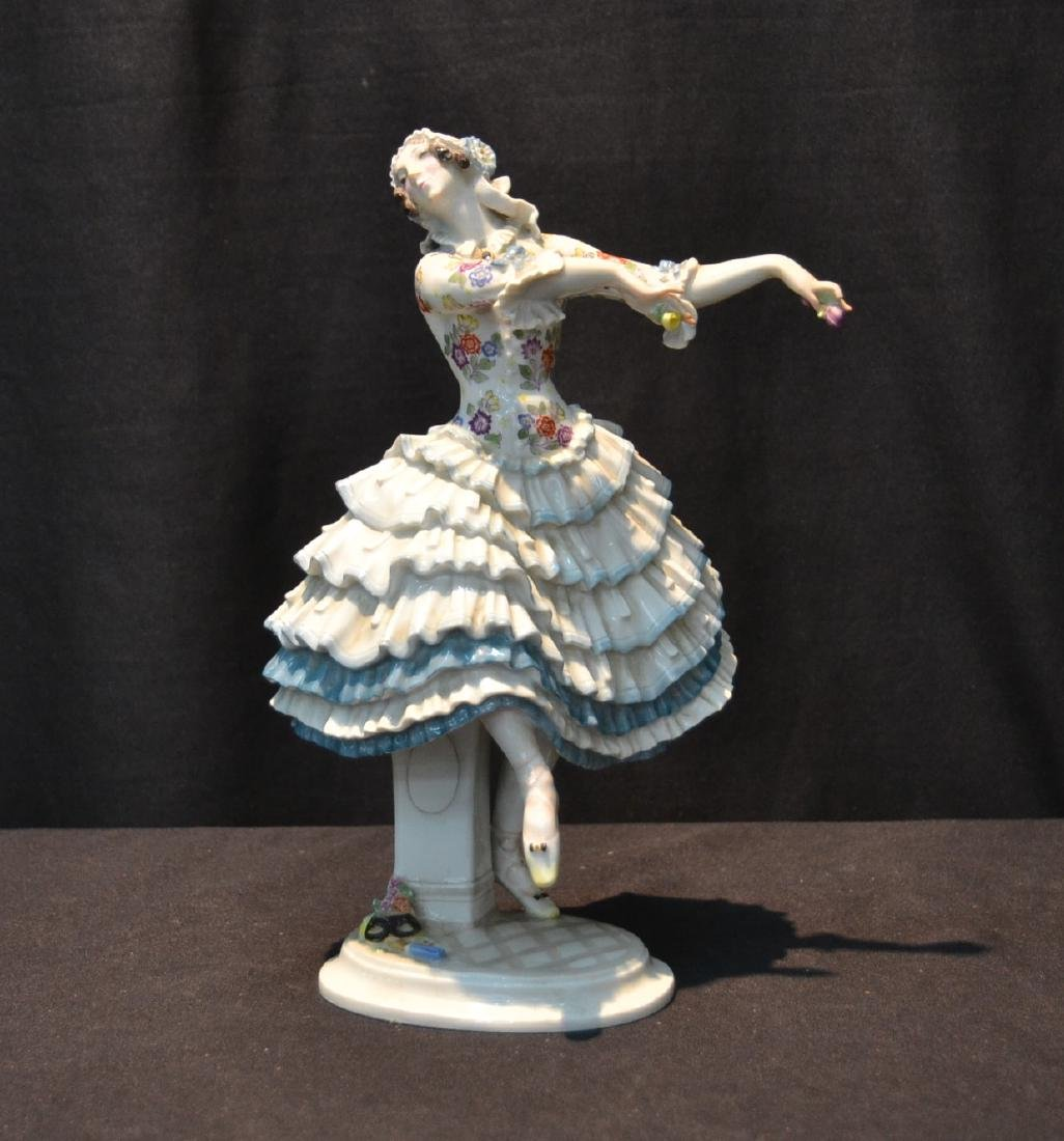 MEISSEN PORCELAIN RUSSIAN BALLET DANCER