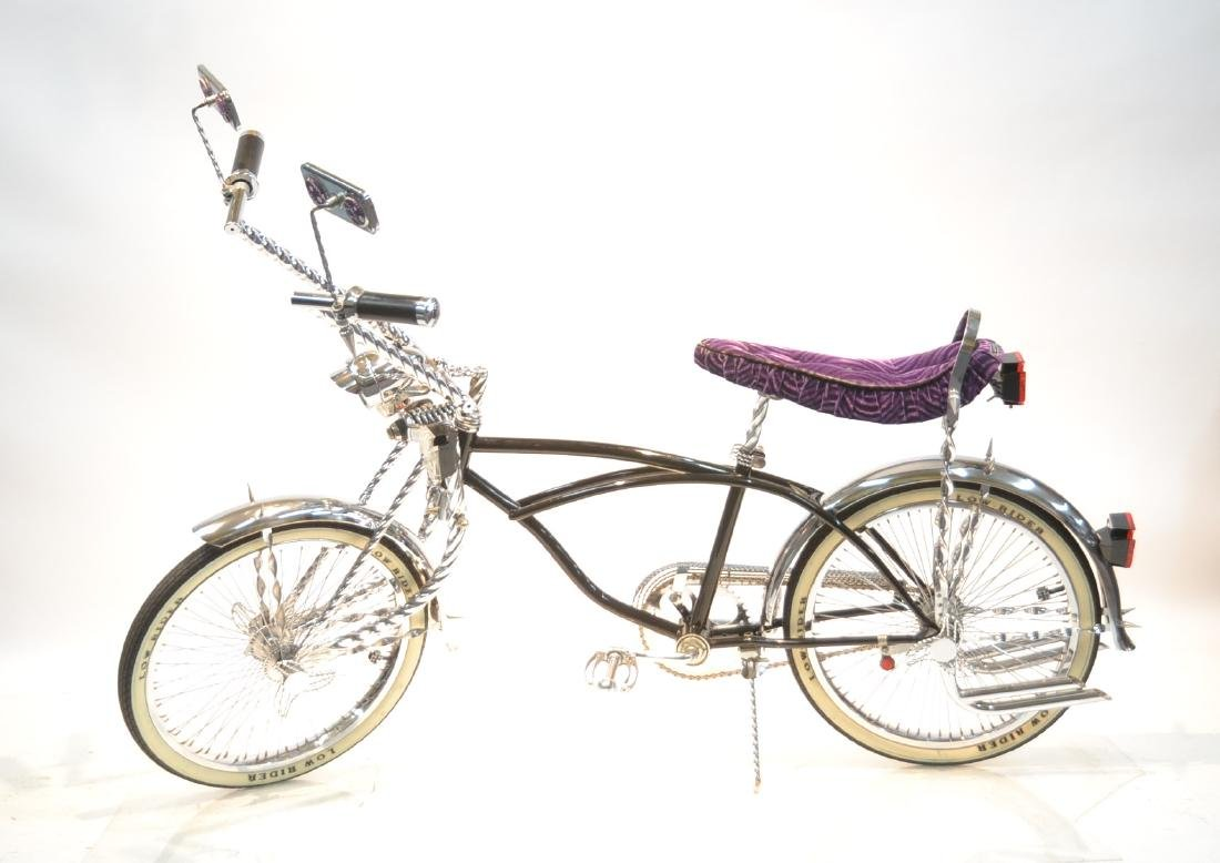 """20"""" LOWRIDER BICYCLE WITH TWISTED CHROME &"""