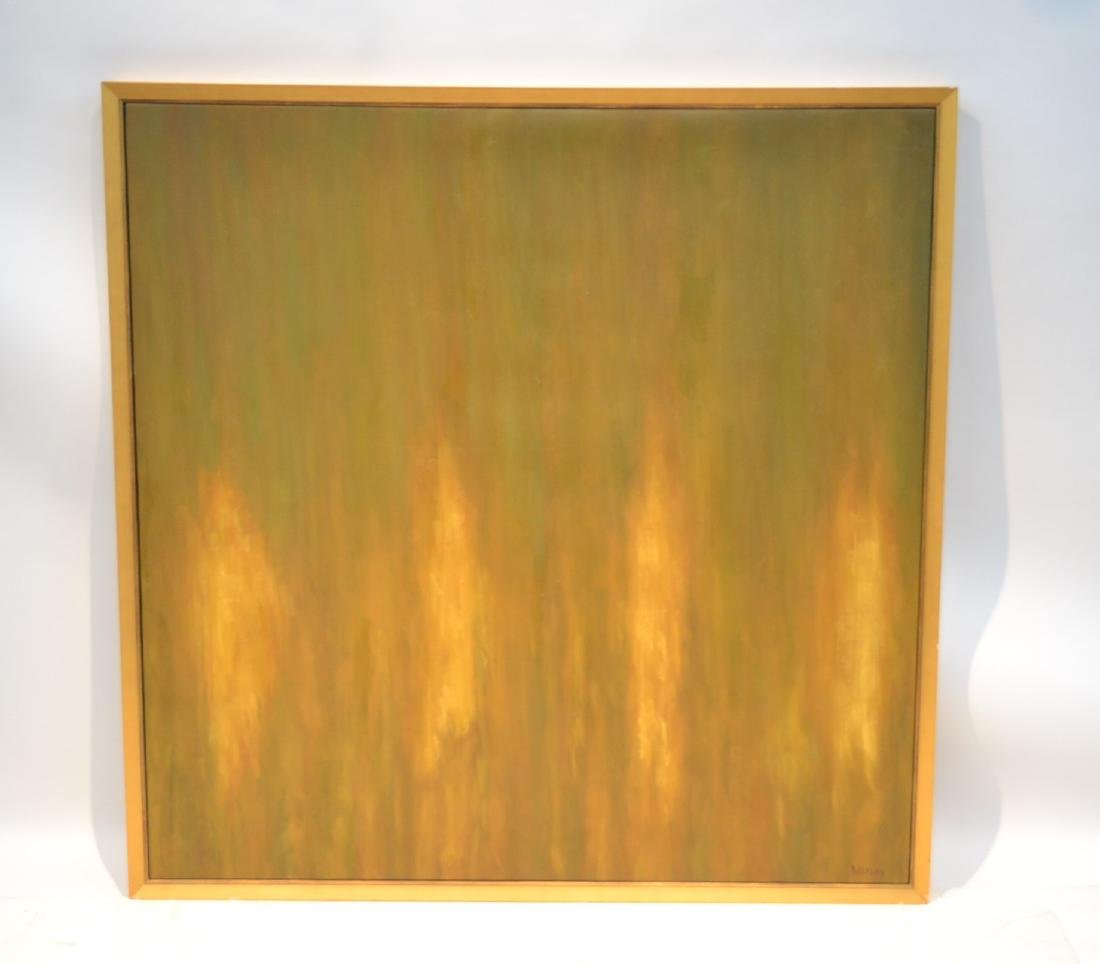 LARGE MODERN OIL ON CANVAS SIGNED WATSON