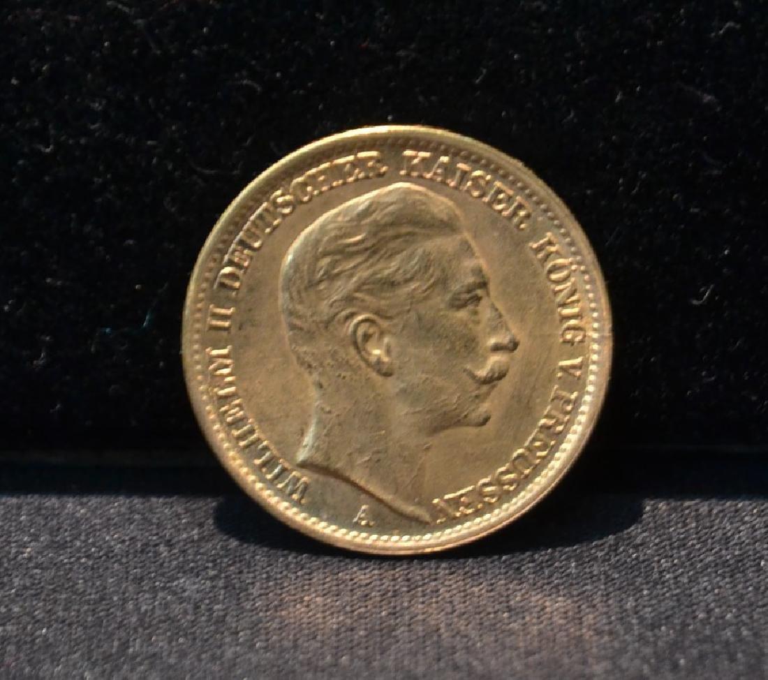 1913 GOLD 20 MARK GOLD COIN - 8grams