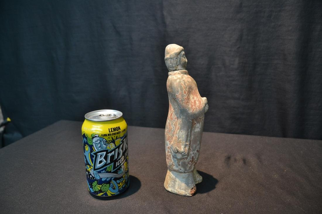 "TANG DYNASTY TERRACOTTA FIGURE - 3"" x 9"" - 7"