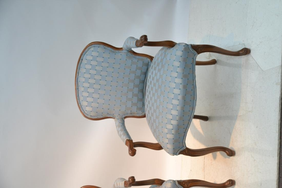 """(Pr) UPHOLSTERED ARM CHAIRS - 25"""" x 17"""" x 34"""" - 3"""