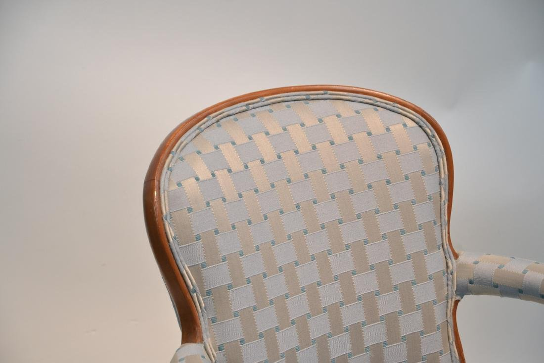 """(Pr) UPHOLSTERED ARM CHAIRS - 25"""" x 17"""" x 34"""" - 6"""