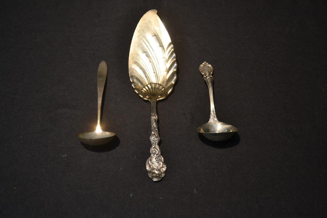 (3) STERLING SILVER PIECES INCLUDING - 3