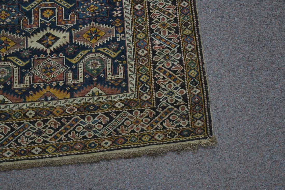"3' 9"" x 5' 3"" ANTIQUE CAUCASIAN RUG - 4"