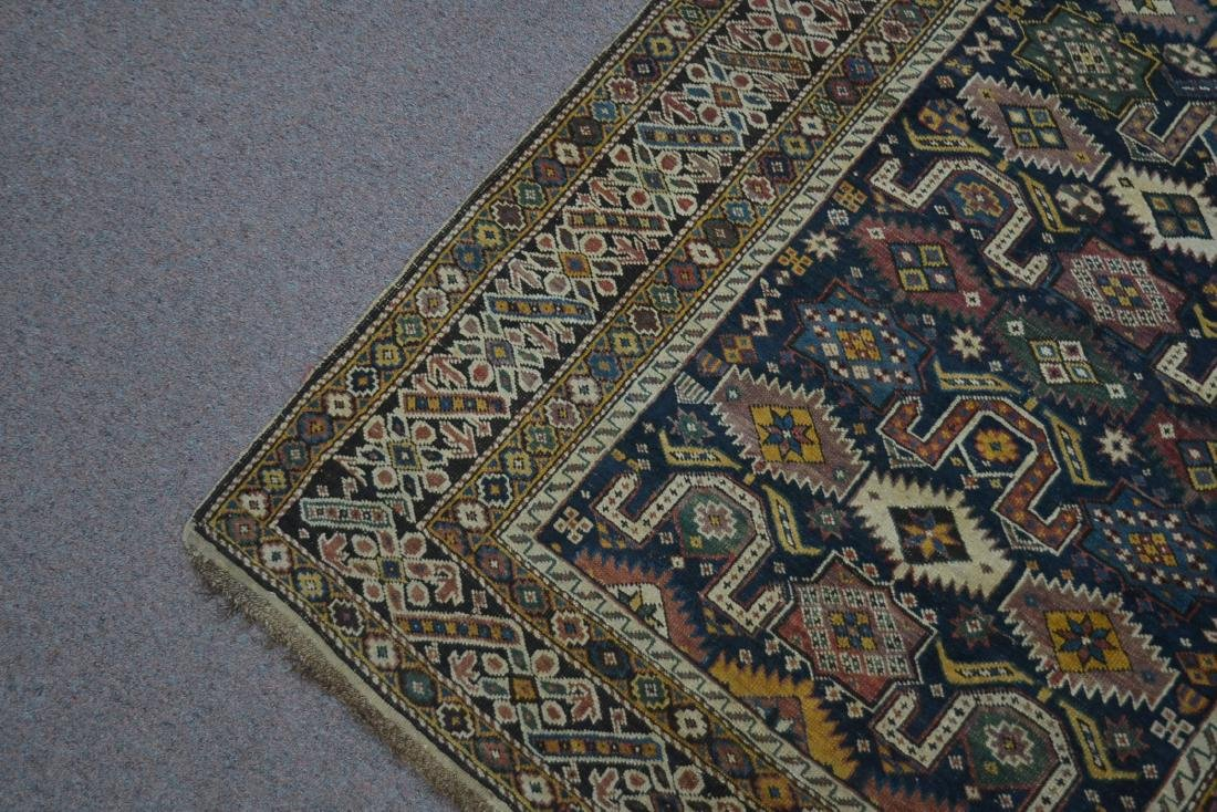 "3' 9"" x 5' 3"" ANTIQUE CAUCASIAN RUG - 5"