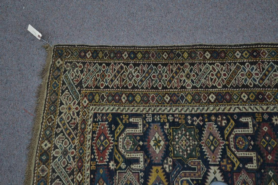 "3' 9"" x 5' 3"" ANTIQUE CAUCASIAN RUG - 8"