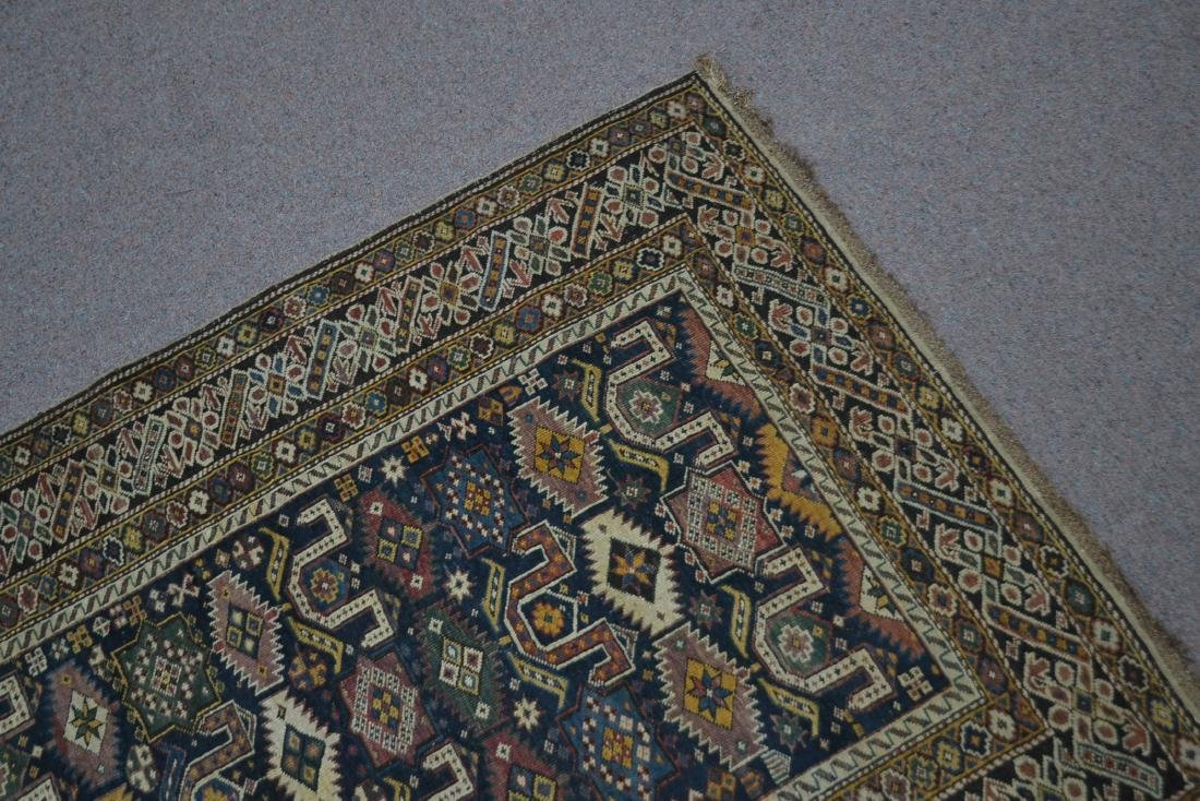"3' 9"" x 5' 3"" ANTIQUE CAUCASIAN RUG - 9"