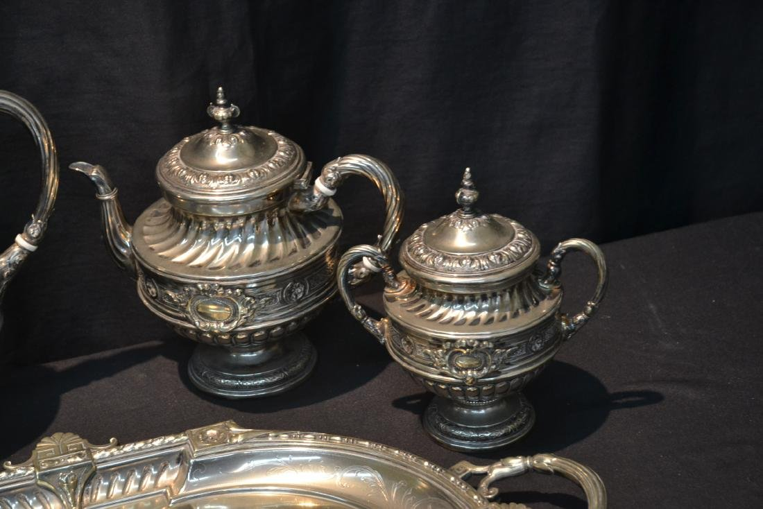 WMF SILVER PLATE TEA SET CONSISTING OF - 2