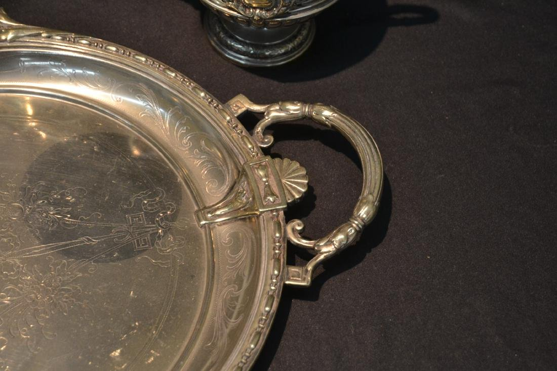 WMF SILVER PLATE TEA SET CONSISTING OF - 5