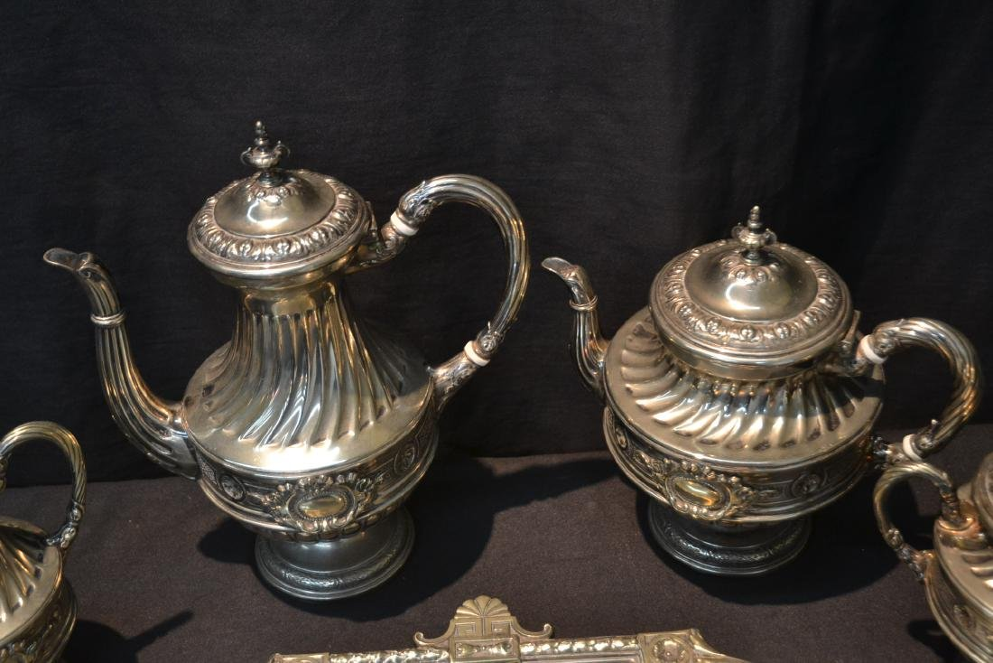 WMF SILVER PLATE TEA SET CONSISTING OF - 7