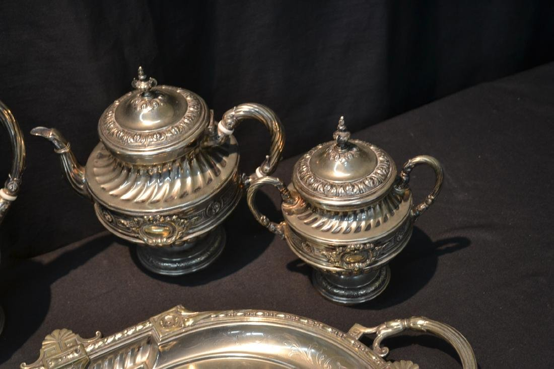 WMF SILVER PLATE TEA SET CONSISTING OF - 8