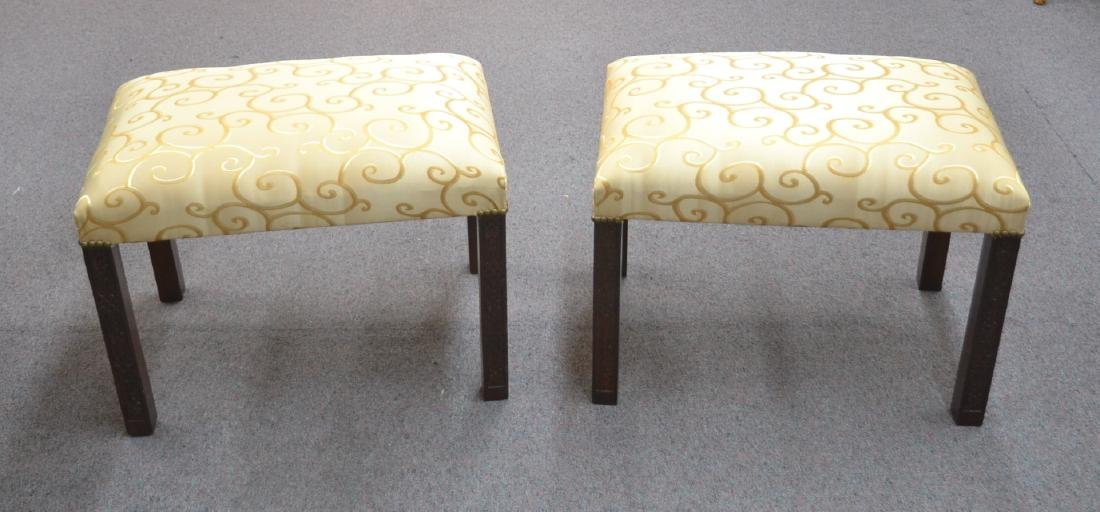 (Pr) UPHOLSTERED BENCHES