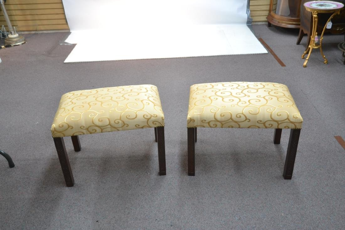 (Pr) UPHOLSTERED BENCHES - 2
