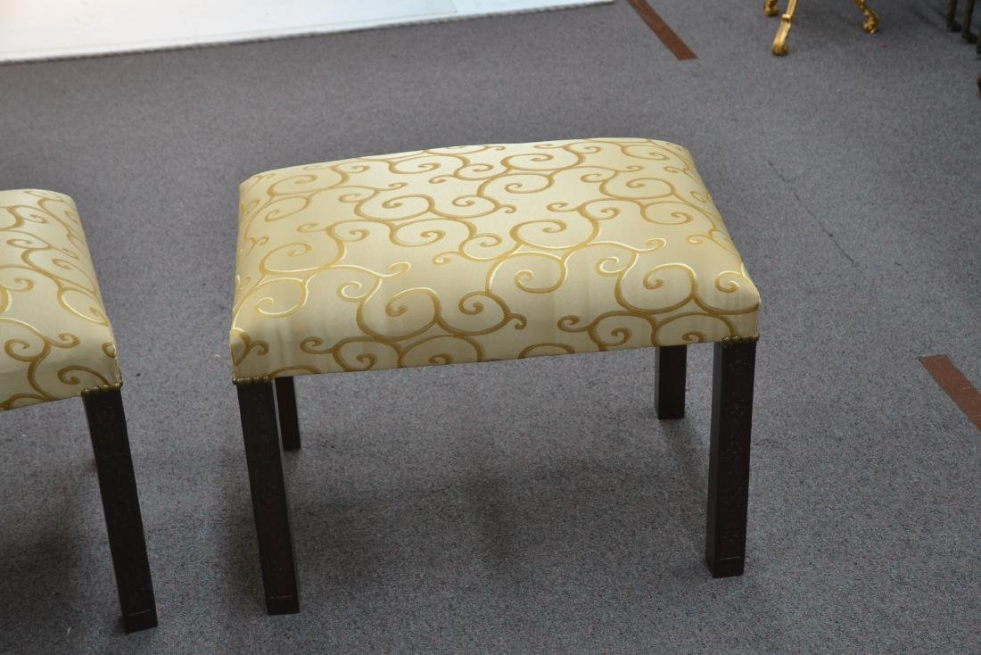 (Pr) UPHOLSTERED BENCHES - 3