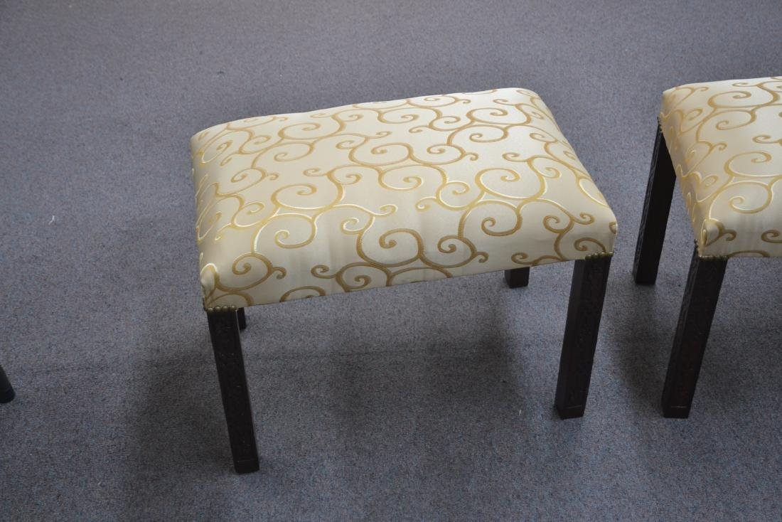 (Pr) UPHOLSTERED BENCHES - 4