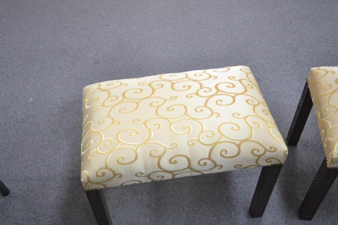 (Pr) UPHOLSTERED BENCHES - 5