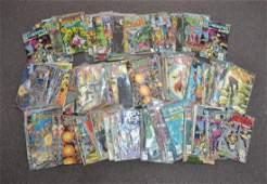APPROXIMATELY (125) COMIC BOOKS - DC & MARVEL