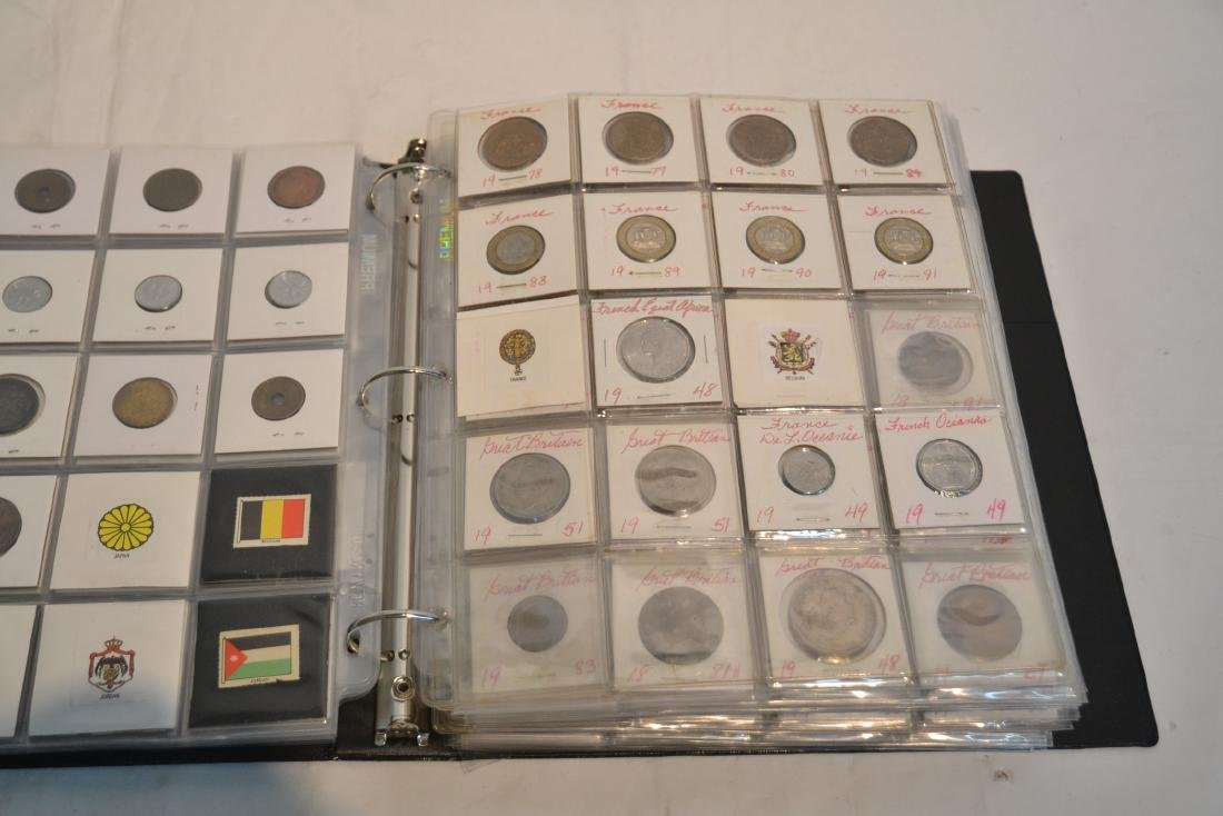(3) BINDERS OF ASSORTED UNITED STATES & FOREIGN - 10