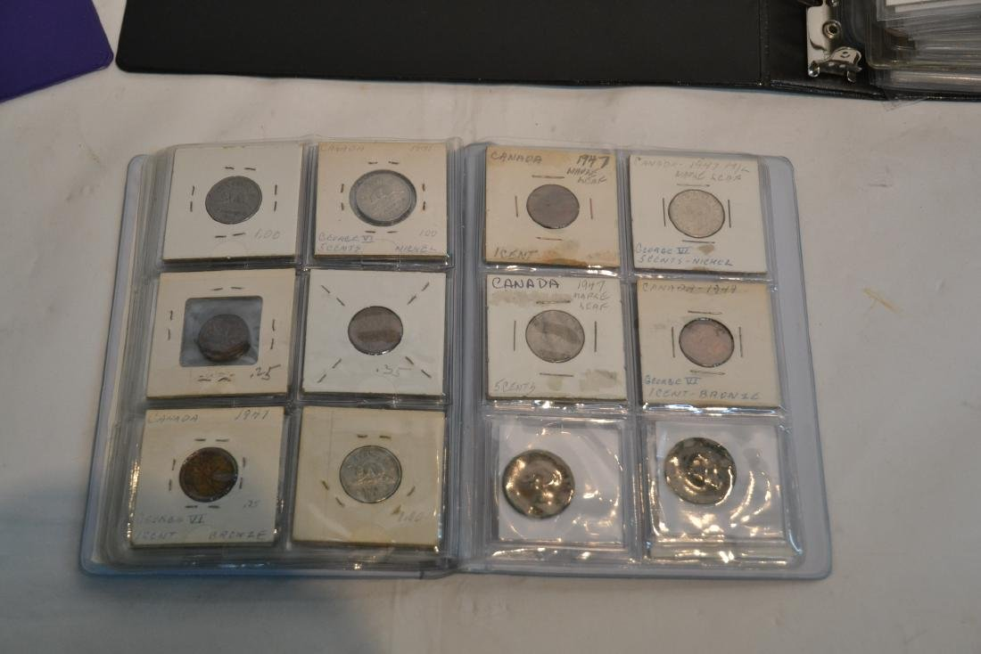 (3) BINDERS OF ASSORTED UNITED STATES & FOREIGN - 7