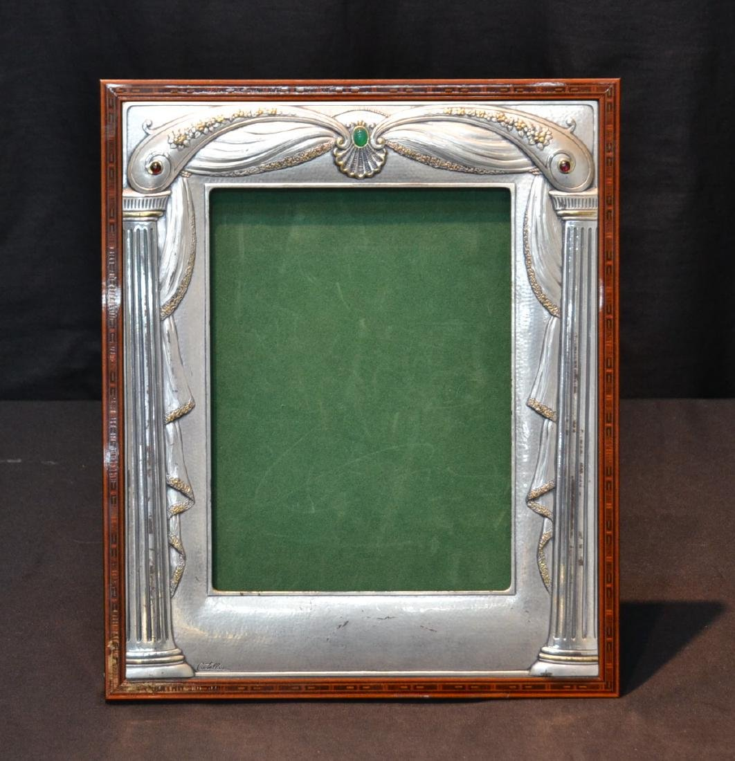 CASTELLANI STERLING SILVER PICTURE FRAME