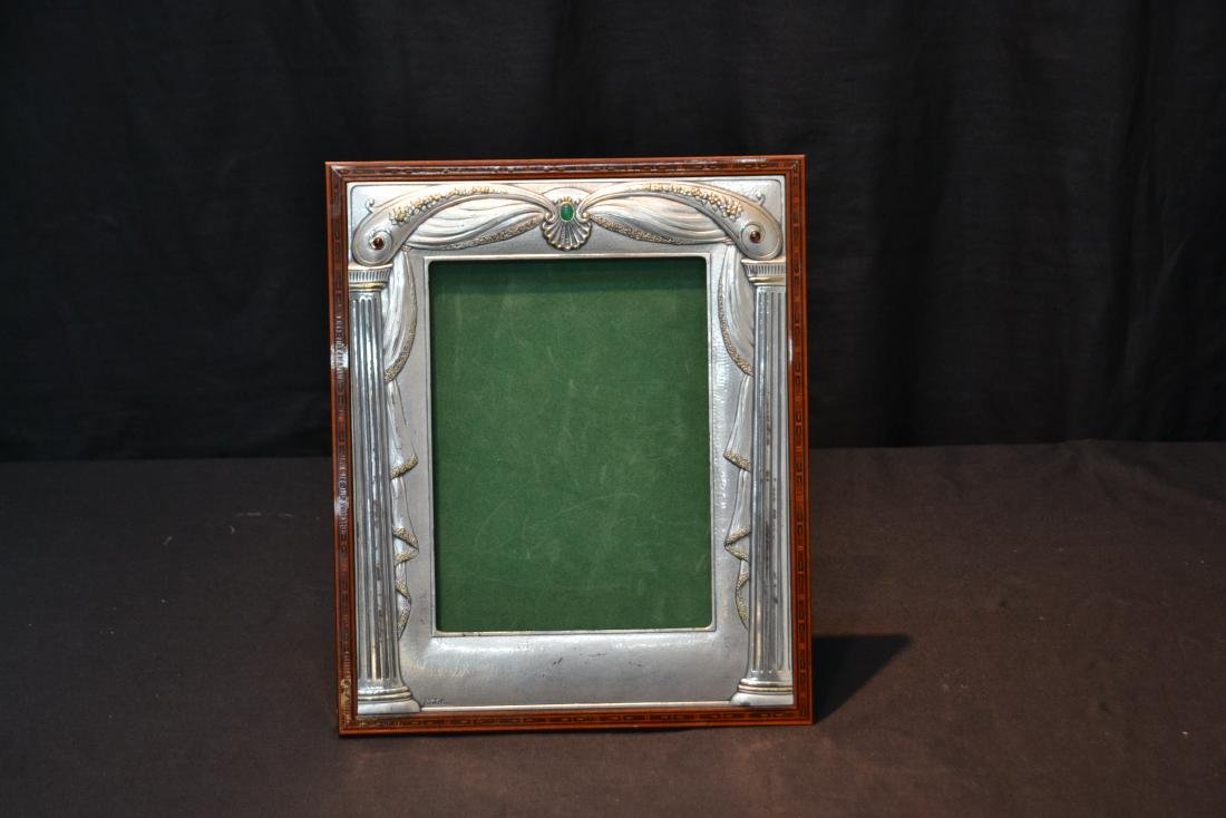 CASTELLANI STERLING SILVER PICTURE FRAME - 2