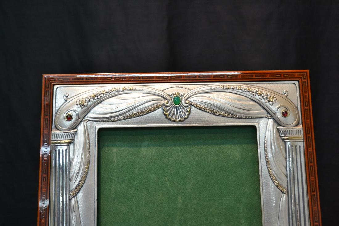 CASTELLANI STERLING SILVER PICTURE FRAME - 3