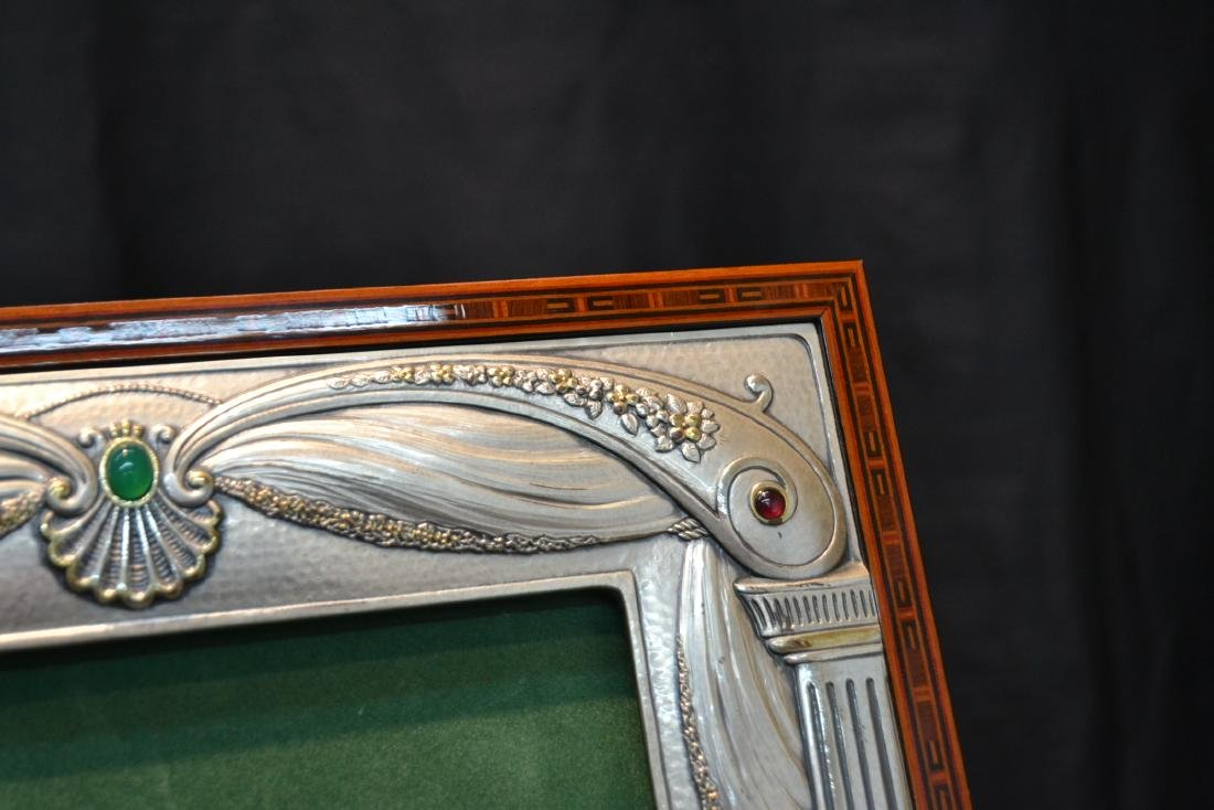 CASTELLANI STERLING SILVER PICTURE FRAME - 5