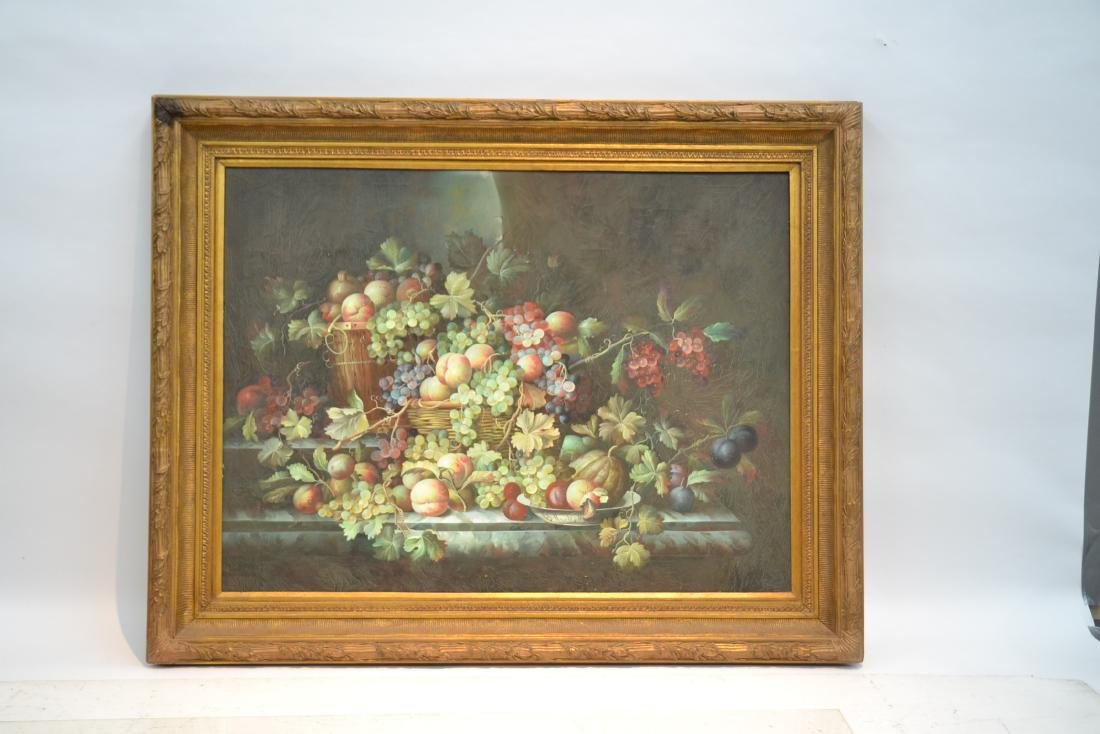 VERY LARGE CONTEMPORARY FRUIT STILL LIFE - 2