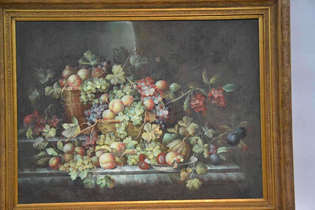 VERY LARGE CONTEMPORARY FRUIT STILL LIFE - 3