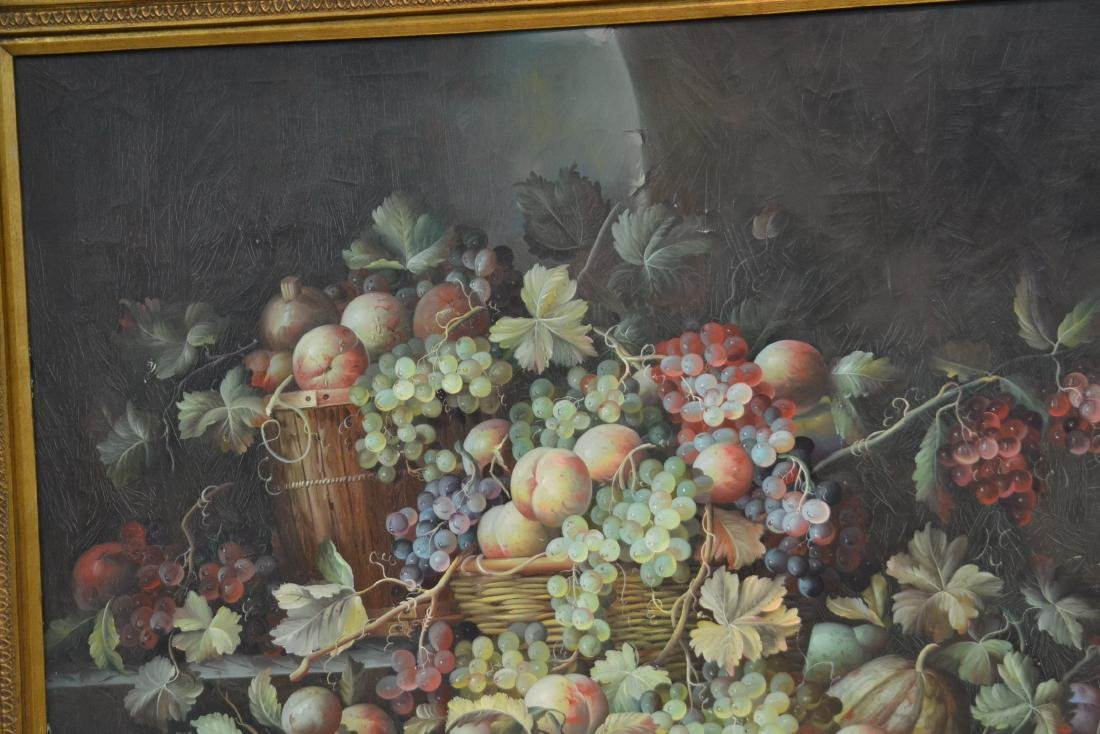 VERY LARGE CONTEMPORARY FRUIT STILL LIFE - 5