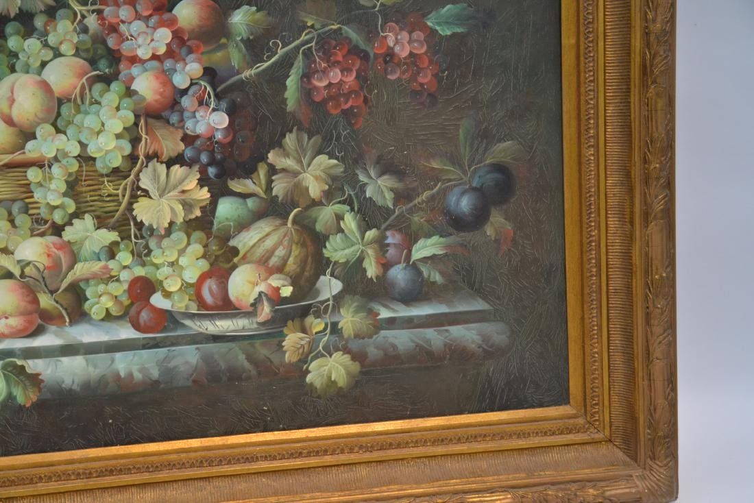VERY LARGE CONTEMPORARY FRUIT STILL LIFE - 6
