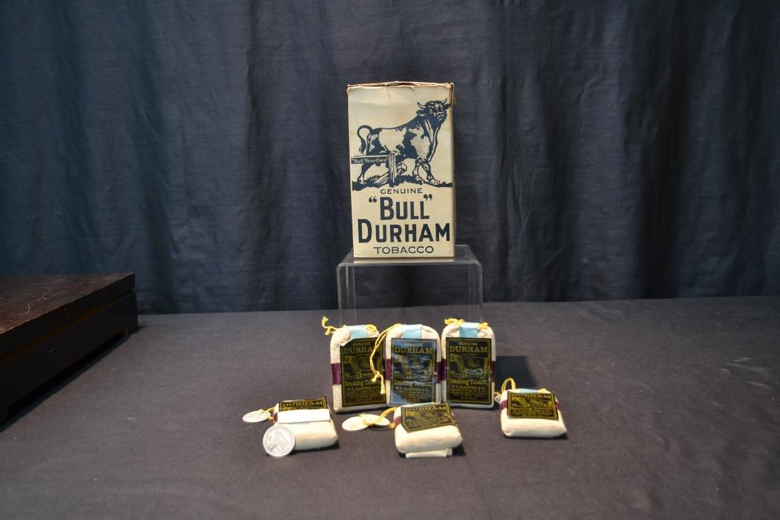 BULL DURHAM SMOKING TOBACCO BAGS - 2