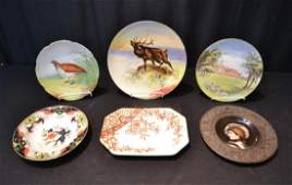 ASSORTED PORCELAIN PLATES TO INCLUDE