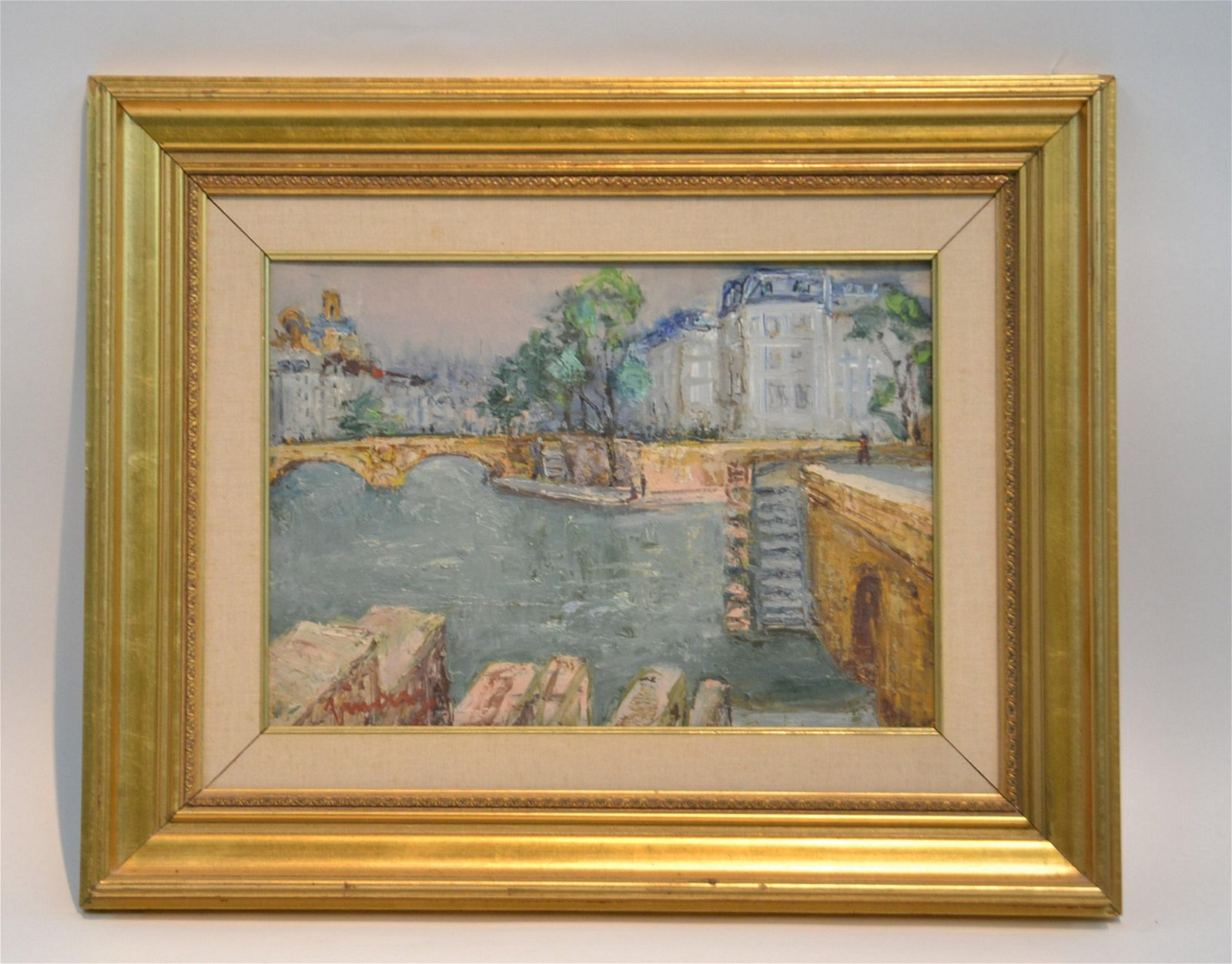 JEAN VINAY (french 1901-1978) OIL ON CANVAS