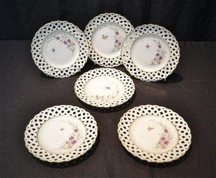 570: Dresden and Bavaria Tirschenreuth Porcelain Plates