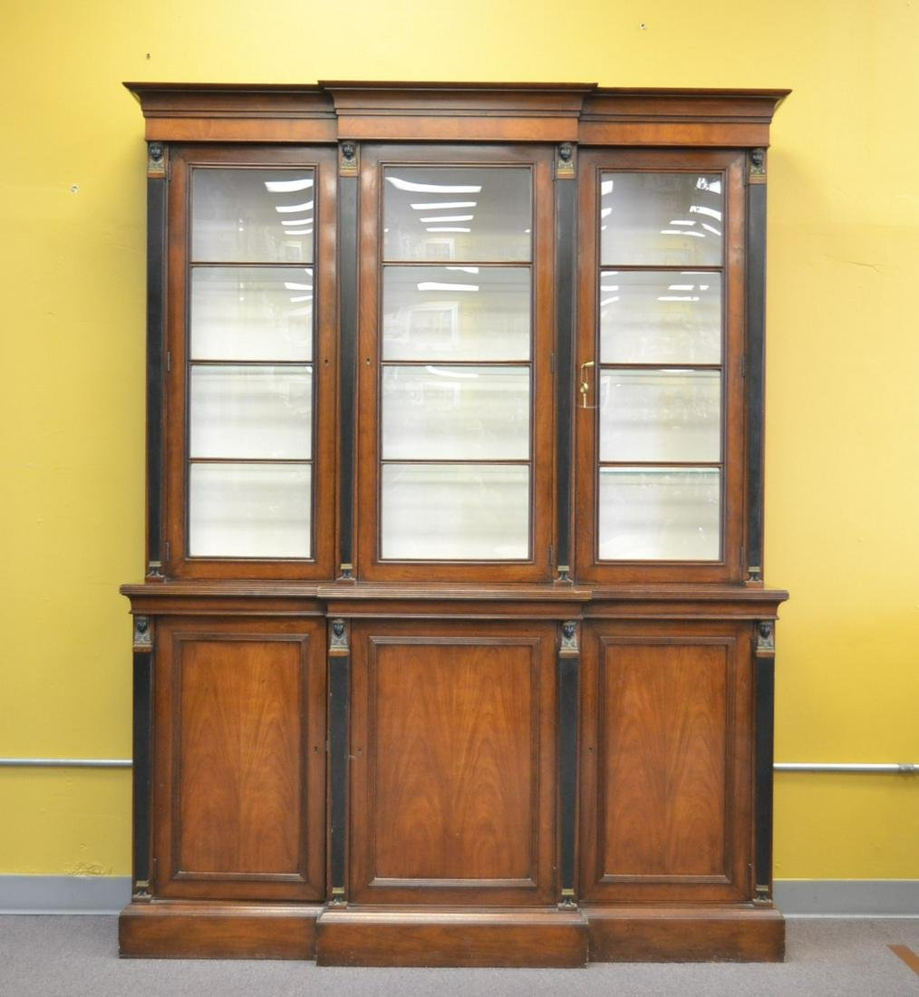 FRENCH EMPIRE STYLE CHINA CABINET