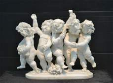 FINELY CARVED ITALIAN MARBLE SCULPTURE