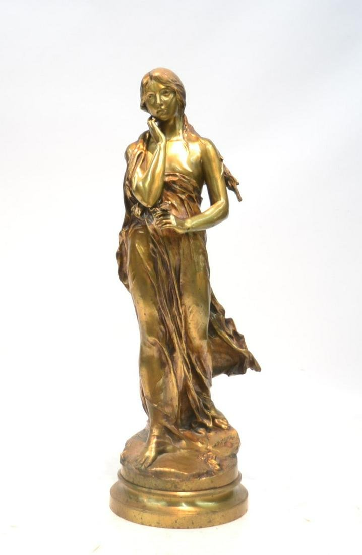 PAUL GASQ (1860-1944) FRENCH BRONZE SCULPTURE