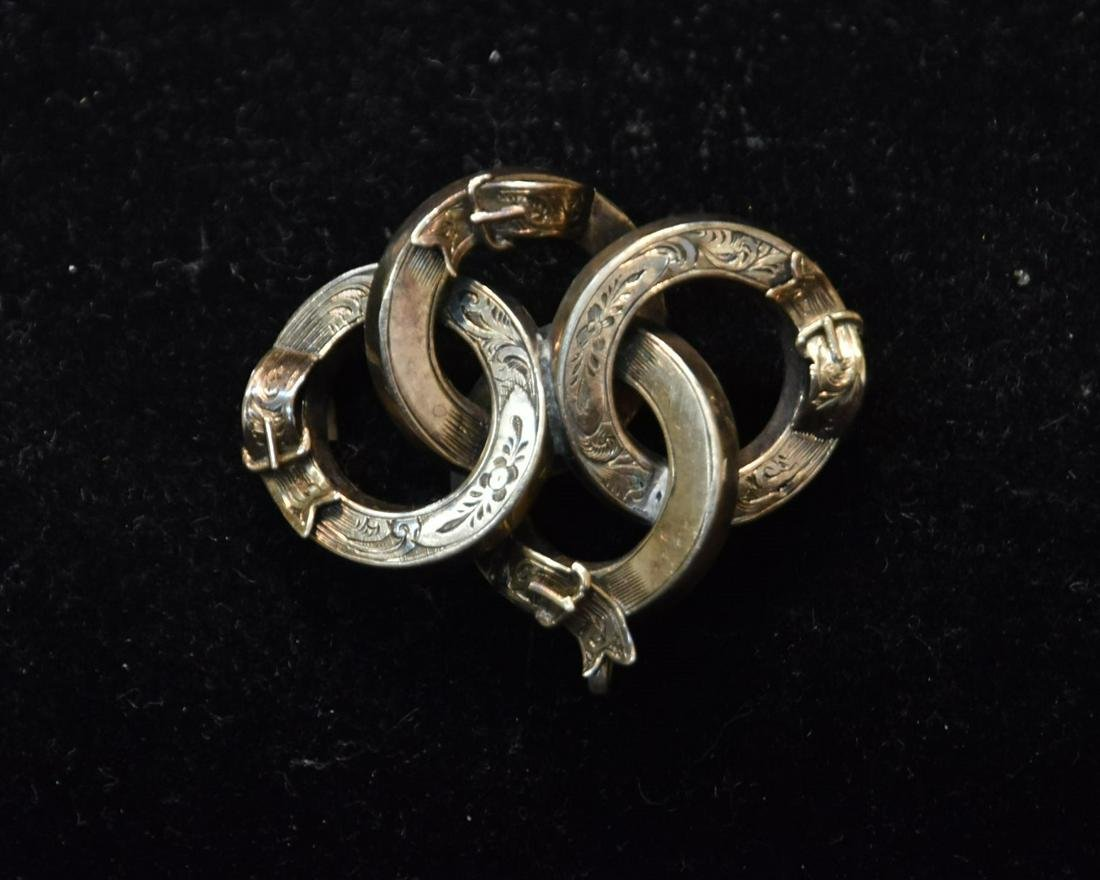 VICTORIAN 10kt GOLD PIN