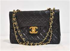 CHANEL CLASSIC JUMBO MAXI QUILTED LEATHER FLAP BAG