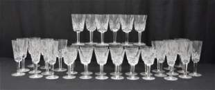 (3) SIZES OF WATERFORD CRYSTAL STEMWARE